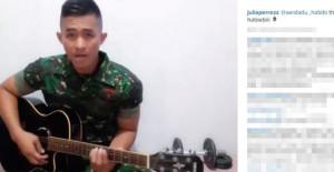 Seorang-Tentara-Mengirim-Sebuah-Lagu-untuk-Julia-Perez-